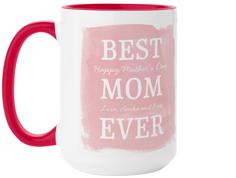 best mom watercolor mug