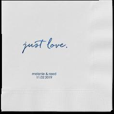 romantic delight napkins
