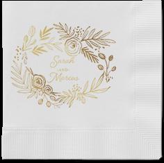 delightfully entwined napkins