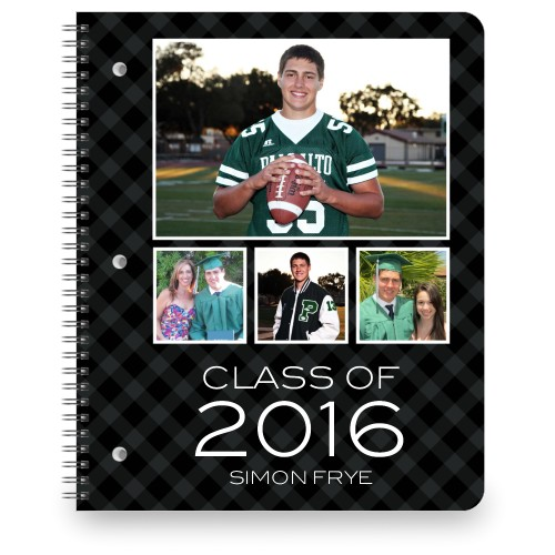Class Of Large Notebook, 8.5x11, Black