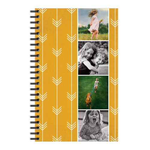 Going Places Notebook, 8x5, Orange