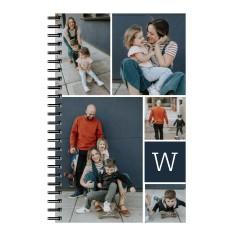 gallery monogram 5x8 notebook
