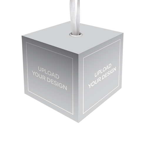Upload Your Own Design Cube Personalized Christmas