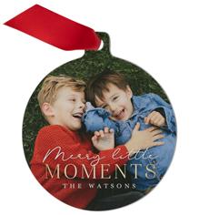 little moments metal ornament