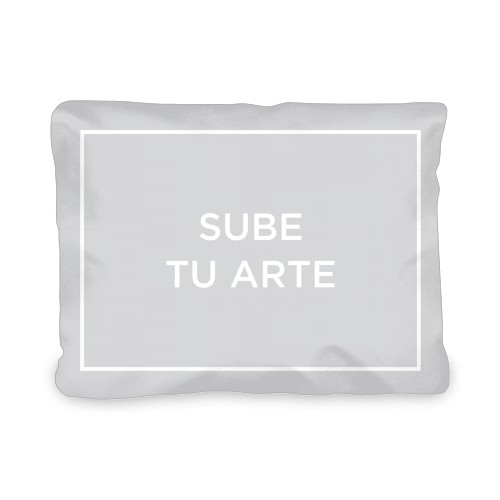Sube Tu Arte Outdoor Pillow, Pillow (Ivory), 12 x 16, Single-sided, Multicolor