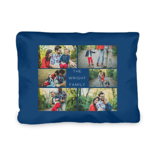 Gallery of Six Outdoor Pillow, Pillow (Ivory), 12 x 16, Single-sided, Multicolor