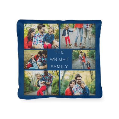 Gallery of Six Outdoor Pillow, Pillow, 18 x 18, Double-sided, Multicolor