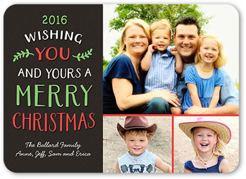 Fun Wishes Christmas Card