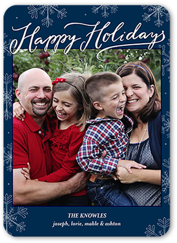 Frozen In Time Holiday Card