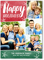 photo collage christmas cards shutterfly - Collage Christmas Cards