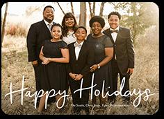 festivity mirth holiday card