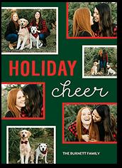 grid cheer holiday card