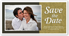 falling in love save the date 4x8 photo