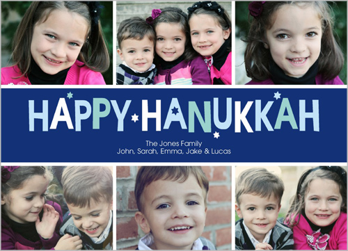Happy Holiday Hanukkah Card