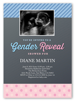 Gender Reveal Baby Shower Invitations | Shutterfly