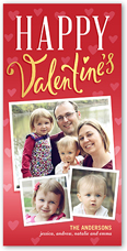 lovely day valentines card 4x8 photo