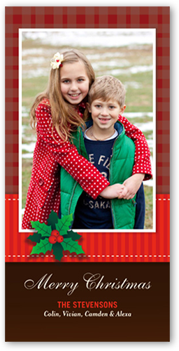 front - Shutterfly Christmas Cards