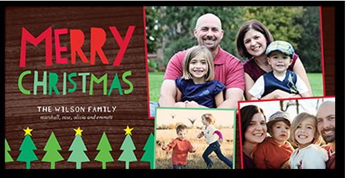 Merry Trees Christmas Card