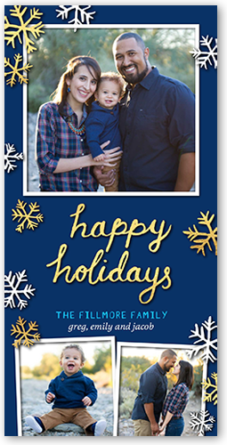 Happy Sentiment Holiday Card