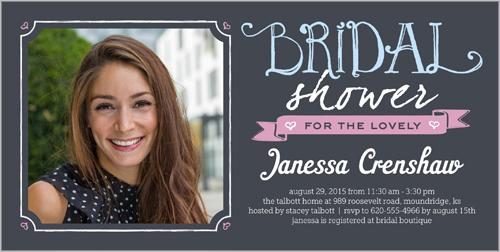 Beautiful Bride Bridal Shower Invitation | Invitations