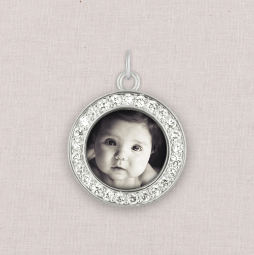 Silver Photo Charm