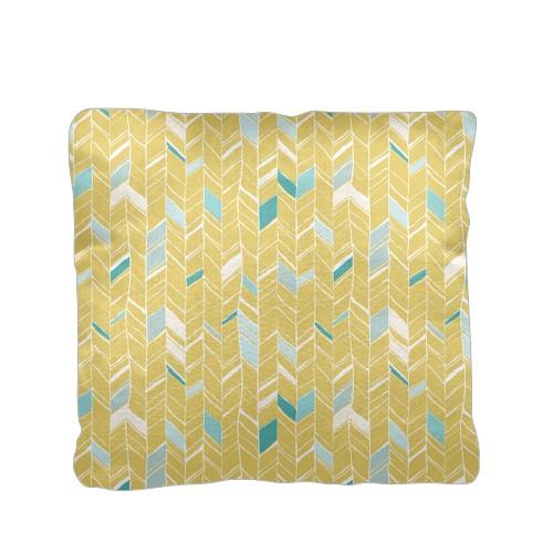 Multi Herringbone Pillow