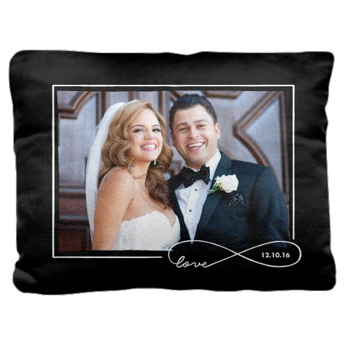 Love Infinity Outline Pillow