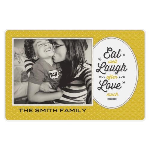 Eat Laugh Love Placemat