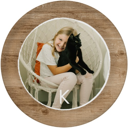 Rustic Wood Memories Plate