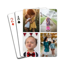 gallery of four playing cards