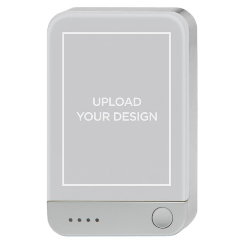 Upload Your Own Design Portable Charger, Portable Charger, Multicolor