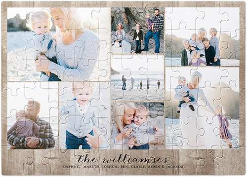 Gallery Collage of Eight Puzzle, 60 pieces, Multicolor