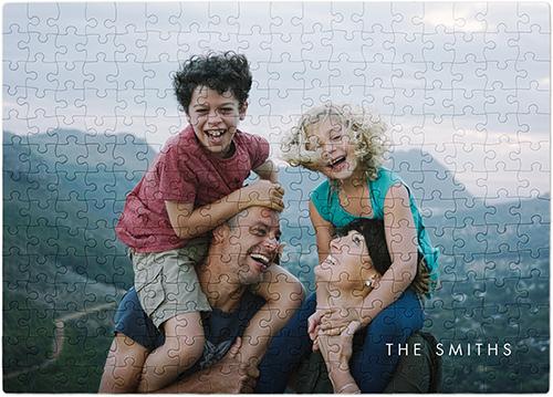 Photo Gallery Puzzle, 252 pieces, Multicolor