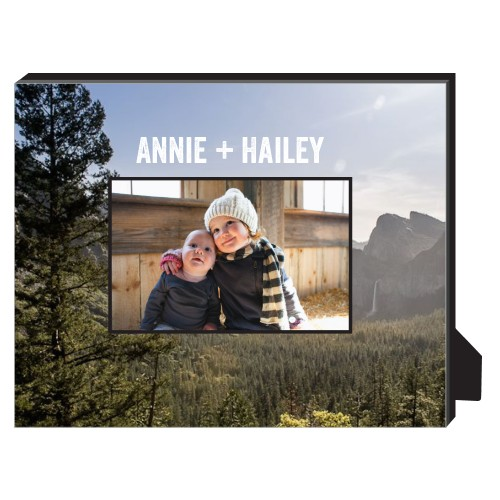 Photo Gallery Personalized Frame, - No photo insert, 8 x 10 Personalized Frame, Multicolor