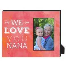 We Love You Personalized Frame
