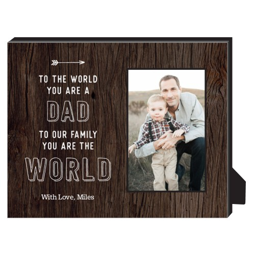 You're My World Personalized Frame