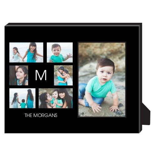 Gallery of Six Personalized Frame, - Photo insert, 8 x 10 Personalized Frame, Multicolor