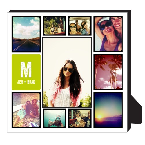 Pictogram Personalized Frame, - No photo insert, 11.5 x 11.5 Personalized Frame, Black