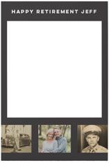 gallery of three selfie frame