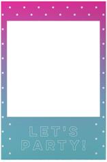 active gradient selfie frame