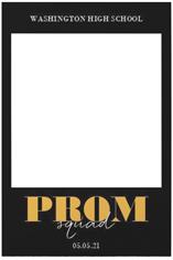 prom squad selfie frame