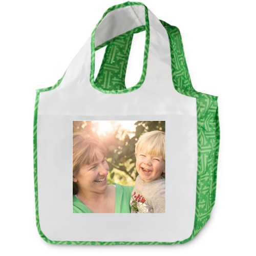 Modern Weave Reusable Shopping Bag