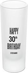 birthday shot shot glass
