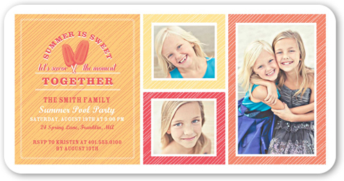 Sweet Popsicles Summer Invitation by pottsdesign