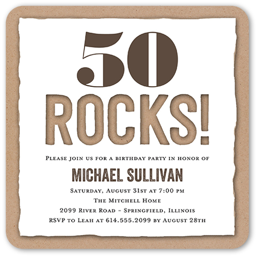 50th Birthday Invitations Shutterfly