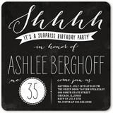 Surprise Birthday Invitations Adult Birthday Invitations Shutterfly