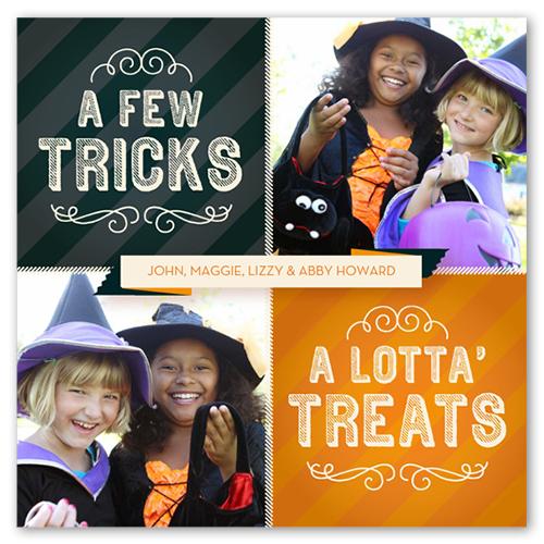 Collage Of Treats Halloween Card