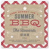 bbq holiday summer invitation 5x5 flat