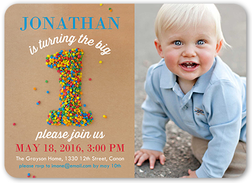 Sprinkle first baby boy birthday invitation shutterfly first boy birthday invitation visible part transiotion part front filmwisefo