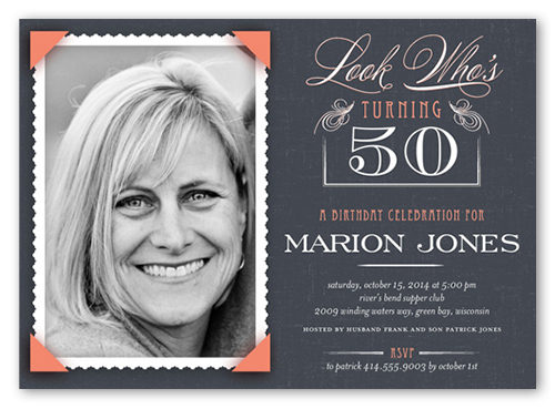 50th birthday invitations shutterfly 50th birthday invitations filmwisefo